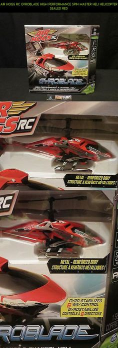 Air Hogs RC Gyroblade High performance Spin Master Heli Helicopter sealed red #gadgets #air #kit #parts #camera #racing #gyroblade #plans #hogs #shopping #technology #fpv #products #tech #drone