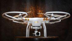 Déjà vu sur l'Inspire, ce système intelligent permet d'évoluer en milieu fermé sans réception de GPS. Pour les vols en extérieur, le Phantom 3 pro dispose d'un GPS amélioré : couplé avec le système russe GLONASS en plus du GPS américain, il permet au drone d'affiner son positionnement.