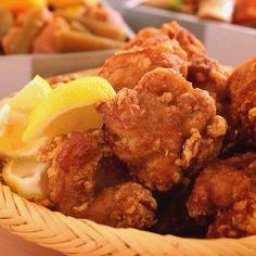 鶏肉の旨味が口の中に広がります!塩麹から揚げ | あさこ食堂