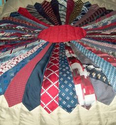 Quilt Made With Neck Ties Crafts Pinterest Ties