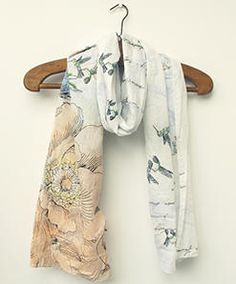 Bazaar Boutique Accessories & Gifts - Peony Scarf £18.00. 20% off Now.  Enter NOV20OFF at the checkout.