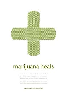medical marijuana poster by Hope Meng - CCA GD1 - Mark Fox