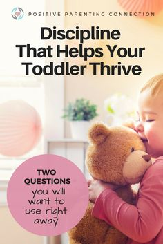 toddler development and discipline