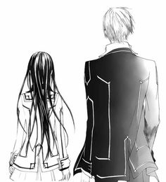 Zero and Yuki Vampire Knight, Vampire Animes, Yuki And Zero, Dengeki Daisy Manga, Yuki Kuran, Amagi Brilliant Park, Doctor Who Fan Art, Best Love Stories, Manga Anime