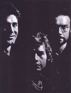 """King Crimson - Fripp, Wetton, and Bruford. The """"Red"""" album."""