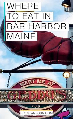 20 delicious places to grab a bite to eat in Bar Harbor, Maine, USA. From fresh lobster to hearty breakfasts, here are my top tips on where to eat in Bar Harbor. Bar Harbor Maine Restaurants, Top Restaurants, Hearty Breakfasts, Bangor Maine, Acadia Maine, Travel Maine, Usa Travel, Canada Travel, Vacation Ideas