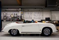 Porsche 356 Speedster  http://www.porsche.com/usa/accessoriesandservices/classic/