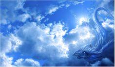 雲竜に乗って