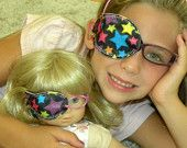 Even though I hated wearing eye patches, especially the tacky cloth ones, this makes me so happy, why didn't I ever think to put one on Molly?!