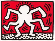 Keith Haring Siamese Twins