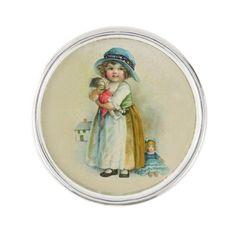 Vintage Little Girl Chubby Cheeks Hat Dolls