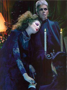 Eniko Mihalik | Miles Aldridge | Vogue Italia September 2012 | So Magical, SoMysterious