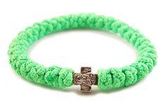 #33Knots Light Green Prayer #Bracelet, yet another great color for spring/summer $14.99 33knots.com