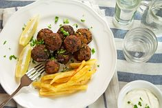 Greek Traditional Meatballs (Keftedakia) with beef is an easy meatballs recipe you can make ahead of any party.Warm up and serve these delicious bites with tzatziki and horiatiki for a classic Mediterranean feast.