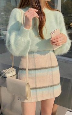 Korean Girl Fashion, Korean Fashion Trends, Ulzzang Fashion, Kpop Fashion Outfits, Girls Fashion Clothes, Mode Outfits, Korean Casual Outfits, Cute Casual Outfits, Stylish Outfits