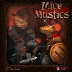 Mice and Mystics Board Game - because we just can't ever have enough games! looks like the kids could play it too