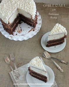 Ombre Desserts – Beautiful Desserts - House Beautiful