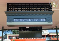At Walt Disney World, we usually look for the Guest Entrance Cast Member line because most Disney guests do not realize that everyone can use this line.