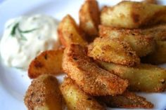 Chrumkavá príloha, alebo podajte k zemiakom omáčku podľa vašej chuti