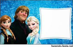 Frozen free printable card or candy bar label.