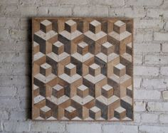 Reclaimed wood panel