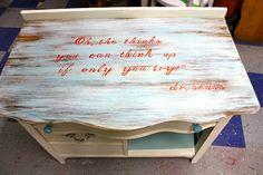 MakeMePrettyAgain: Dr Seuss nursery dresser