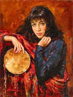 gypsy paintings | Andrew Atroshenko Gypsy Painting