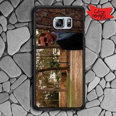 Rushmore Bill Murray Samsung Galaxy S7 Edge Black Case