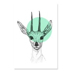 South African Antelope – the Dukier – features in this hand-drawn designs. Simple and beautiful, the Duiker canvas brings a sense of modern colonial style with a spot of contemporary colour. Size: Choose from either Small (30 x 40cm), Medium (60 x 90cm) or Large (90 x 120cm) in size. Material: Professionally printed onto 100% cotton canvas and stretched onto a 30mm frame this canvas comes ready to hang in your home. Canvasses are made … Read More →