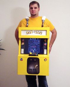 Playable Game Cosplay Pac-Man Costume