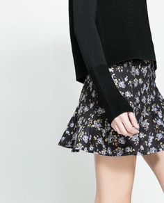 Image 4 of FLARED SKIRT from Zara
