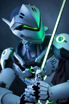 Genji Cosplay - Overwatch - Por Just Cosplay and Props - 03