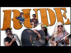 Rude - Walk off the Earth (Magic! cover) - YouTube     Wonderful cover!