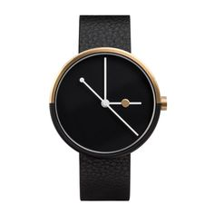 The gold and black dual tone plating on the Eclipse by Australian brand AÃRK is inspired by night and day and the moon's movement in relation to the earth a