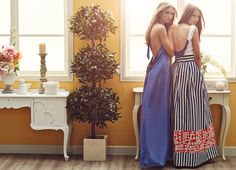 We love and skirts! Fashion Moda, Formal Dresses, Maxi Dresses, Backless, My Style, Skirts, How To Wear, Summer 2015, Skirt