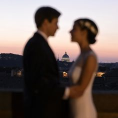 Sunset in  ancient Rome