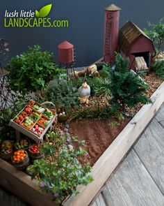 Miniature Farm Garden Preview | Lush Little Landscapes