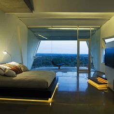 Underbed Lighting (House at Alibag by Malik Architecture)