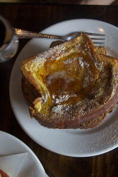 The Mason Jar Cheney, WA Cinnamon Raisin Brioche French Toast