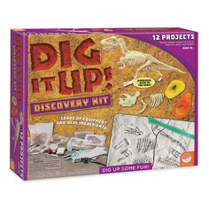 Dig+It+Up!+Discovery+Kit+-+Mindware.com
