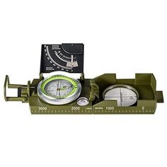 BNISE Military Marching Compass  Waterproof and Shakeproof  Army Pocket Size  Easy Map Navigation Survival  Mapping Gear  for Outdoor Camping and Hiking XLarge MilitaryMultifuntion *** You can get more details by clicking on the image.Note:It is affiliate link to Amazon.