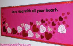 Valentine Day Bulletin Boards