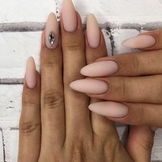 In search for some nail designs and ideas for your nails? Listed here is our list of must-try coffin acrylic nails for stylish women. Grey Nail Designs, Acrylic Nail Designs, Milky Nails, Nails Yellow, Nagel Blog, Matte Nails, Acrylic Nails, Matte Almond Nails, Almond Nail Art