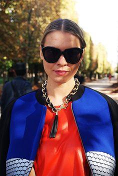 #Nouveau sur #PROTEGEMACAPE   article du style sur http://pmcmode.wix.com/pmc-mag avec @thetrendspotter #dasha  à la #fashionweekparis #style #fashioniesta #mode #look #paris #jardindestuileries #pmc #womenswear #women #showvalentino #street #style #streetstyle #fashion #fashionwomen  suivre @protegemacape
