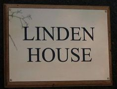 Brass is a real classy material for a house name plate. One disadvantage though - you need to keep it polished! www.sign-maker.net/engraved/brass-house-signs.htm