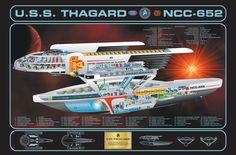 www.foundation3d.com forums attachment.php?s=e3ebe31cc235ca50536857afd85f84d7&attachmentid=28978&d=1248814967 New Star Trek, Star Wars, Star Trek Tos, Cutaway, Vaisseau Star Trek, United Federation Of Planets, Starfleet Ships, Alien Ship, Sci Fi Spaceships