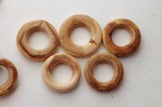Conjunto de collar de dentición de enebro 5 por ukrainianwoods