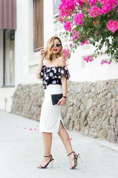 white-pencil-skirt-zara-skirt-black-polkadot-swell-top_400