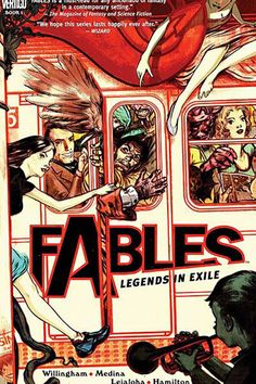 Fables, Book 1 - fairy creatures out of place, out of time