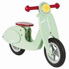 loopscooter mint janod | ilovespeelgoed.nl